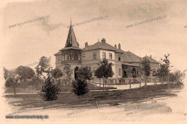 Opatovský Sokolec - neskoroklasicistický kaštieľ