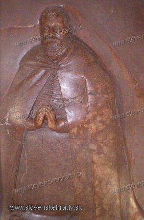 Orlové - náhrobná doska Žigmunda Balašu