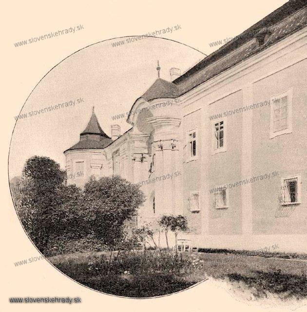 Ožďany - pôvodne renesančný kaštieľ s barokovo-klasicistickou úpravou - zbierka Borovszky