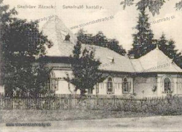 Ožďany - zaniknutý kaštielik Szaniszlóvcov