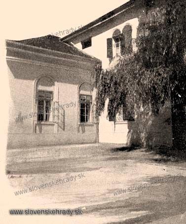 Pinciná - kúria Jánosa Barossa