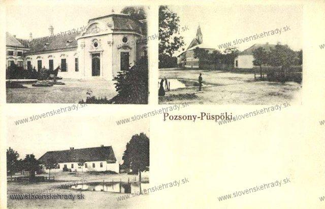 Podunajské Biskupice - biskupský kaštieľ (zaniknutý)