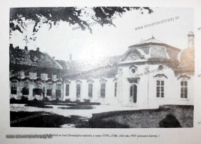 Podunajské Biskupice - kaštieľ