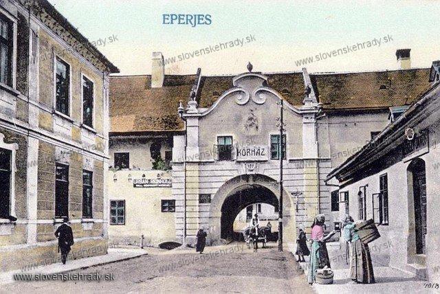 Prešov - mestské hradby - Floriánova brána