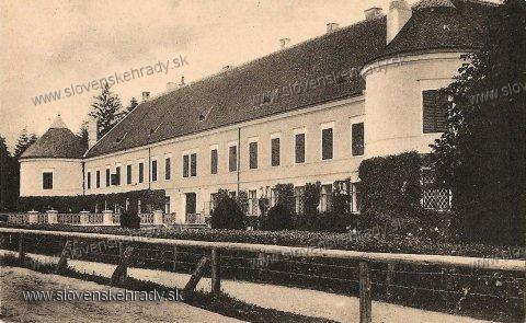 Pruské - kaštieľ okolo roku 1930