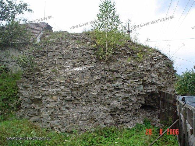 Richnava - hrad
