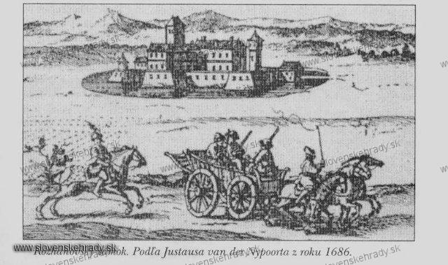 Rozhanovce - hrad