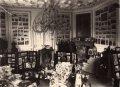 Rusovce - neogotický kaštieľ - pôvodný interiér v rokoch 1906-1945