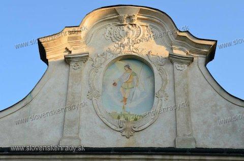 Šarišské Michaľany - renesančný kaštieľ