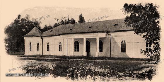 Stakčín - pôvodne rokokový kaštieľ - zbierka Borovszky