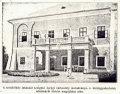 Stropkovský hrad - Balkón pribudovaný v roku 1911. Takže fotka na pohľadnici z r. 1914 je spred r.1911,po rekoštrukcii.