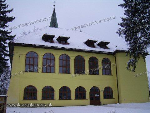 Stropkovský hrad - kaštieľ - súčasť Stropkovského hradu - východný pohľad