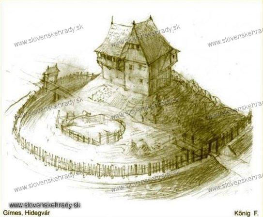 Studený hrad - hradisko