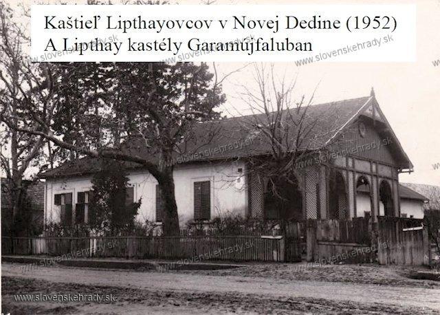 Tekovská Nová Ves - kaštieľ