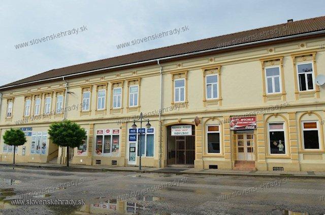 Tornaľa - Hevessyho palác
