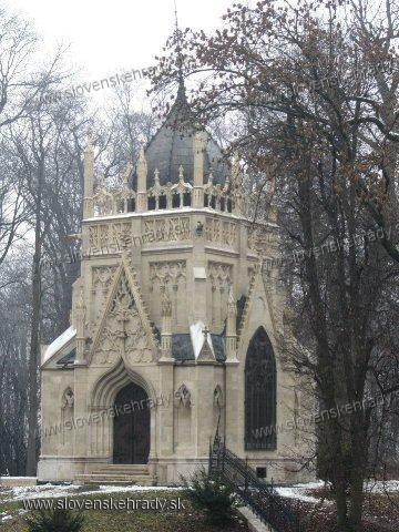 Trebišov - mauzóleum grófa Júliusa Andrássyho