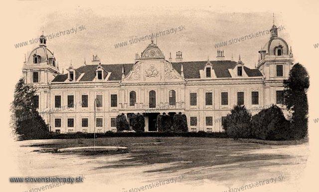 Trebišov - barokovo-klasicistický, empírovo-neorenesančne upravený kaštieľ - zbierka Borovszky