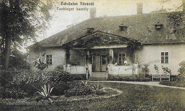 Turá - kaštieľ