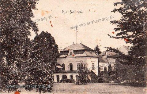 Turčianska Štiavnička - renesančný, barokovo-klasicisticky upravený kaštieľ<br>Zdroj: www.aukro.sk