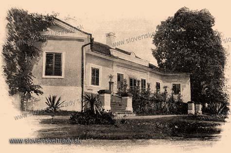 Udavské - klasicistická kúria - zbierka Borovszky
