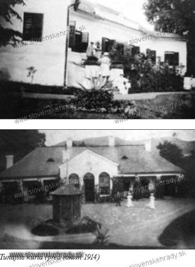 Udavské - klasicistická kúria