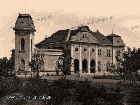 Veselá - kaštieľ v dobe najväčšej slávy - okolo roku 1900<br>Sídlo Jána Kazyho (1853-1912)