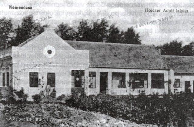 Zemianska Olča - kúria