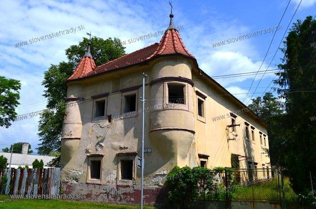 Zemianske Kostoľany - mladší renesančný kaštieľ