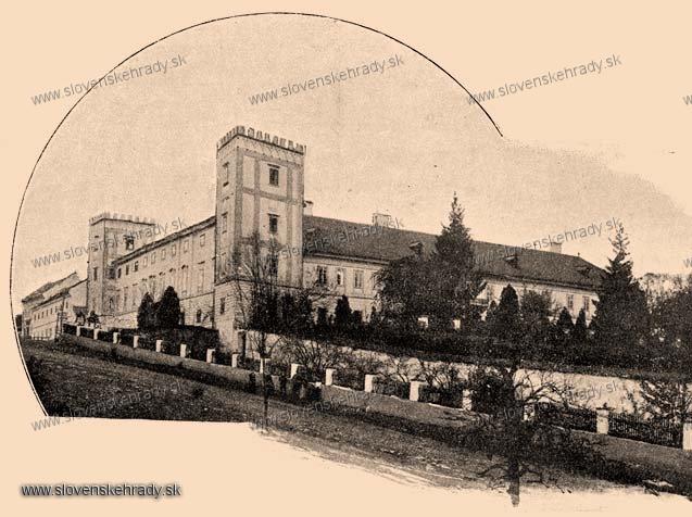 Žiar nad Hronom - renesančno-barokový kaštieľ - zbierka Borovszky