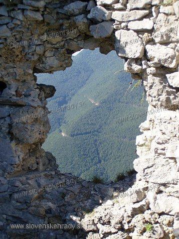 Zniev - okno vežičky